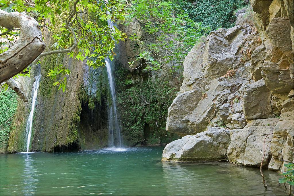 Wasserfall in der Richti Schlucht