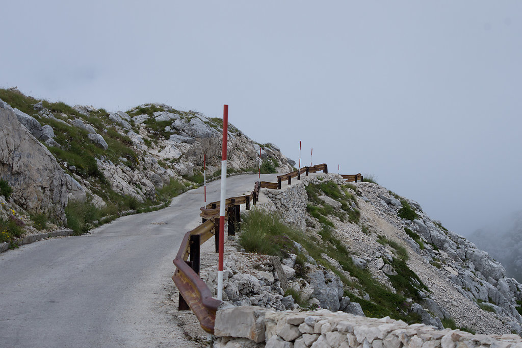 Straße zum Sveti Jure